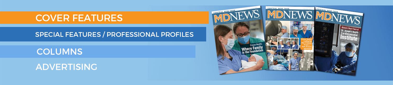 MD News slider header